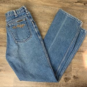 Kenny Rodgers Vintage High Waisted Mom Jeans
